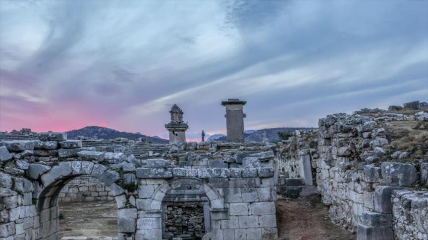 آثار الحضارة الليسية جنوب غربي تركيا تنتظر زوارها