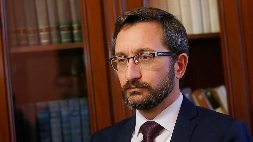 آلتون: تركيا أجهضت الممر الإرهابي بعمليتي غصن الزيتون ودرع الفرات