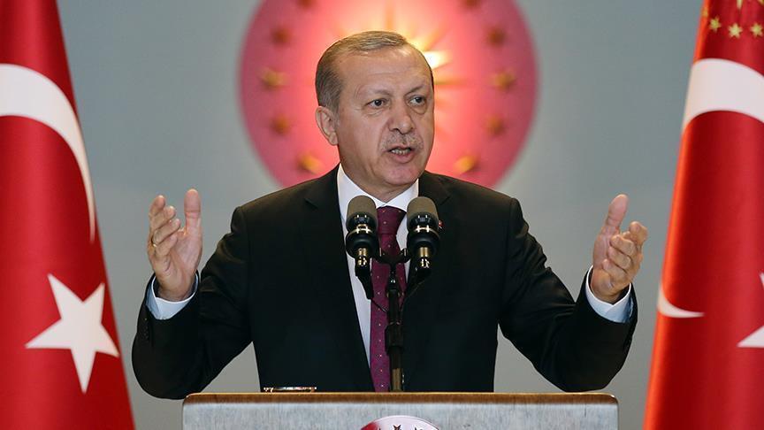 أردوغان: الدول الداعية لمحاربة