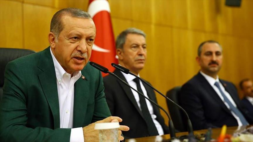 أردوغان: بغداد وأنقرة متفقتان على
