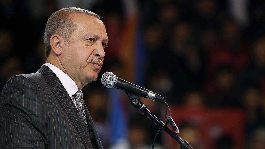 أردوغان: جنودنا يسطرون ملحمة في عملية