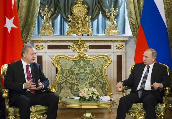 أردوغان: سنبحث كافة القضايا التي تهم تركيا وروسيا خلال اجتماع