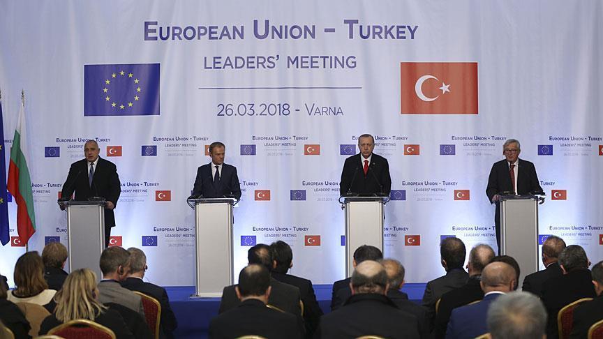 أردوغان: نأمل أننا تجاوزنا مرحلة صعبة مع الاتحاد الأوروبي