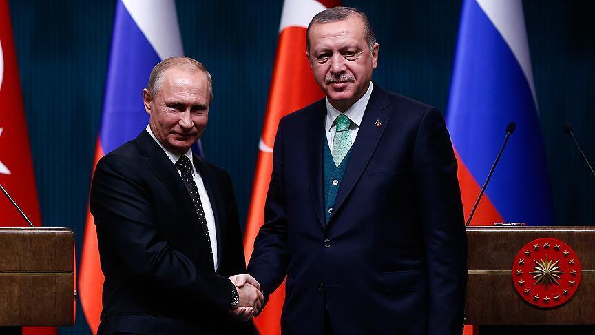 أردوغان وبوتين يتفقان على عقد قمة في إسطنبول بمشاركة إيران