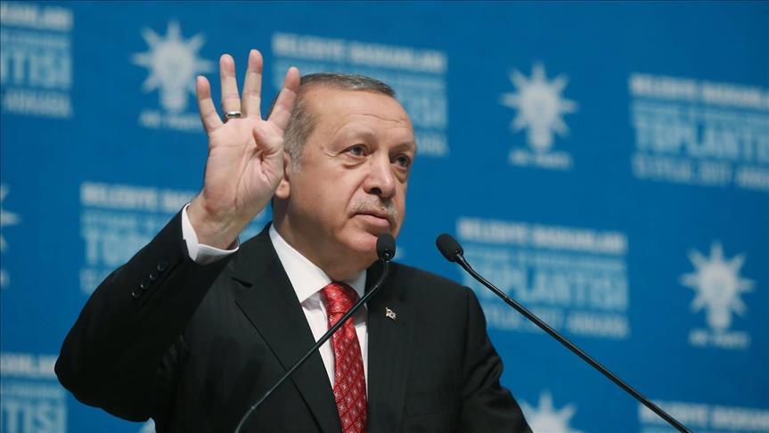أردوغان يؤكد حرص بلاده على سلامة المدنيين أثناء مكافحة الإرهاب