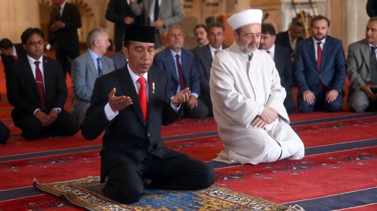 أردوغان يلتقي نظيره الإندونيسي في أنقرة