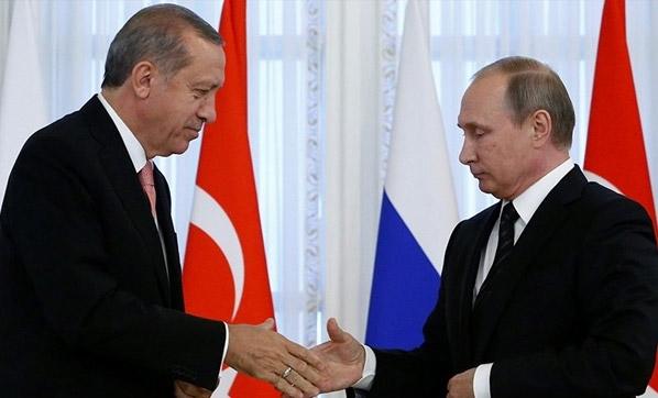 أردوغان يلتقي نظيره الروسي في موسكو
