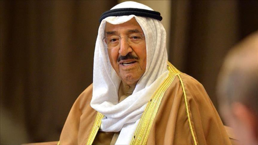 أمير الكويت يبحث مع السراج استقرار ليبيا