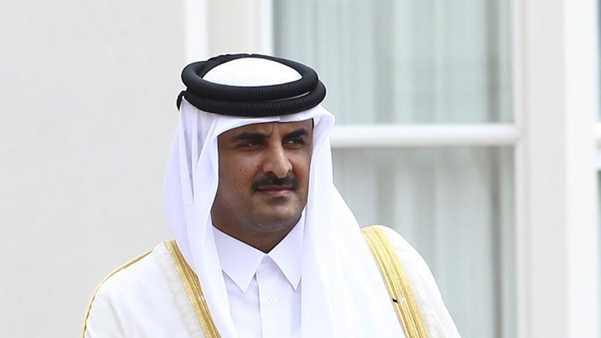 أمير قطر يؤكد لهنية استمرار دعم الشعب الفلسطيني وإعمار غزة