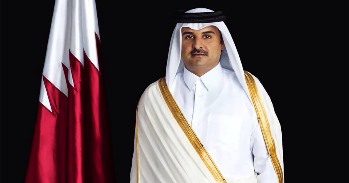أمير قطر يتوجه للسعودية في زيارة لم يعلن عنها مسبقا
