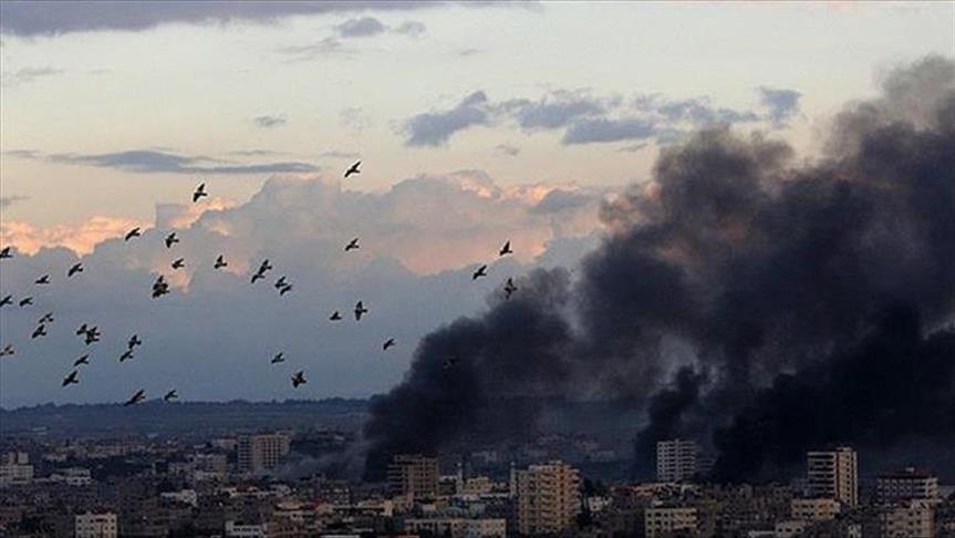"""إسرائيل تقصف """"موقعا عسكرياً"""" يتبع حركة حماس في غزة"""