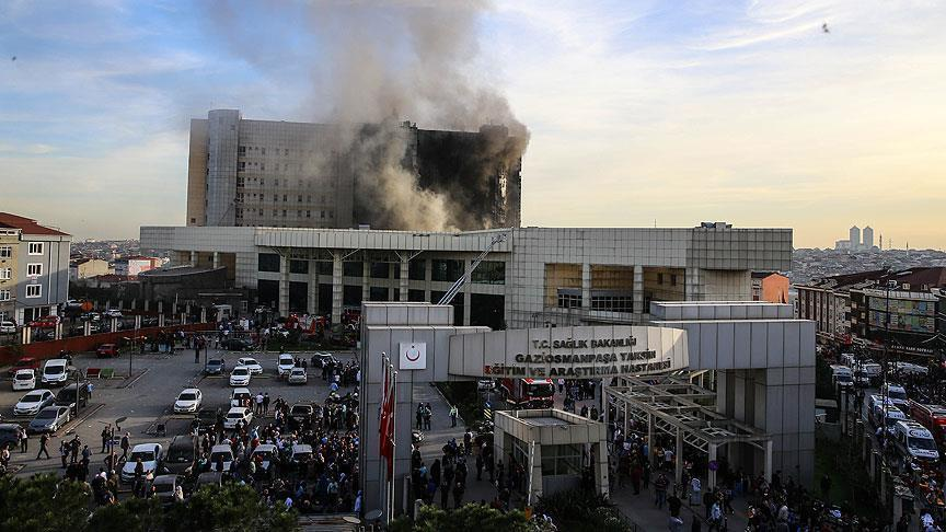 إسطنبول.. اندلاع حريق في مستشفى دون خسائر بشرية