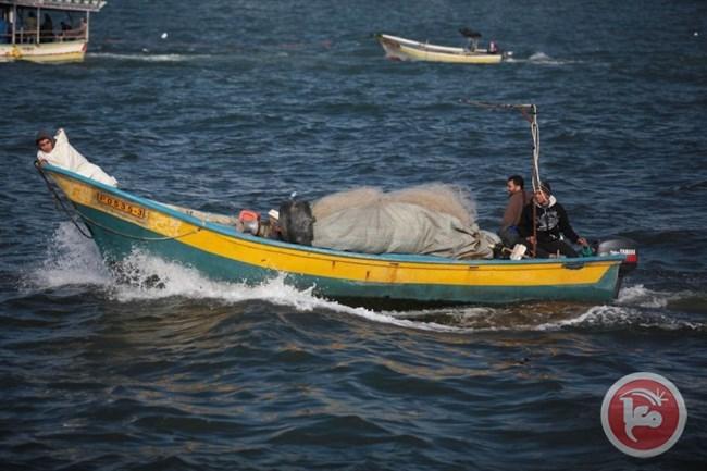 إصابة صياد فلسطيني في غزة برصاص البحرية الإسرائيلية
