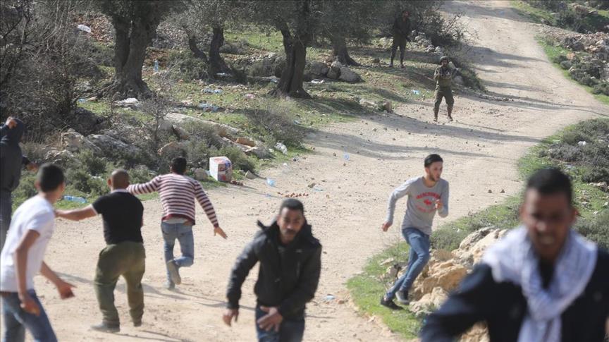 إصابة 9 فلسطينيين برصاص الجيش الإسرائيلي على حدود غزة
