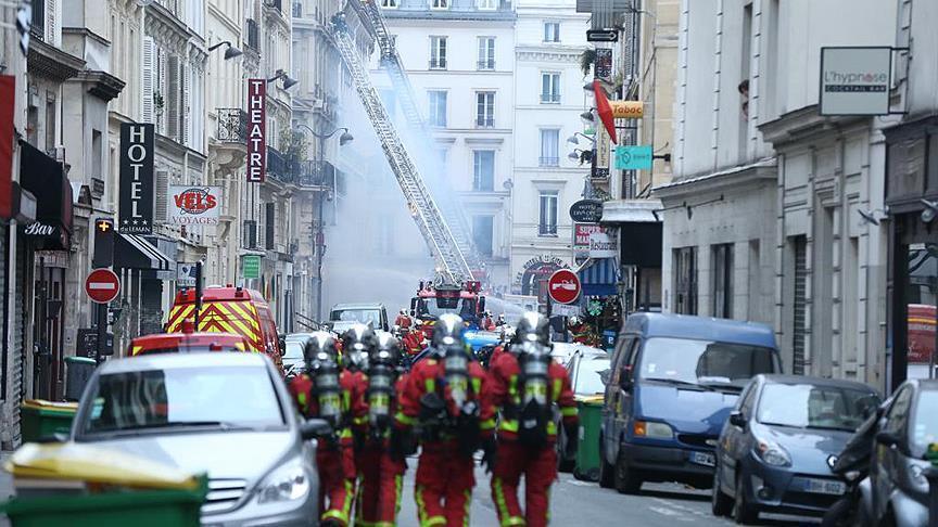 ارتفاع حصيلة ضحايا انفجار مخبز وسط باريس إلى 4 قتلى