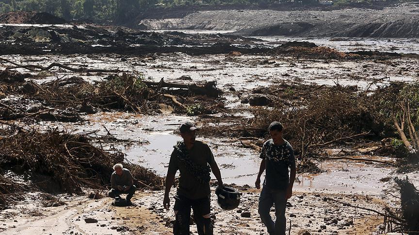 ارتفاع حصيلة ضحايا انهيار سد في البرازيل إلى 58 قتيلا