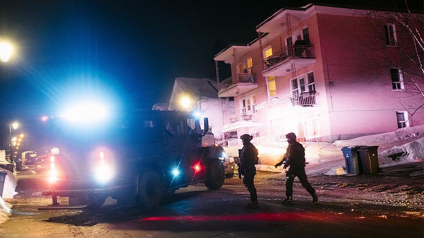 ارتفاع ضحايا إطلاق النار على مسجد بكندا إلى 6 قتلى