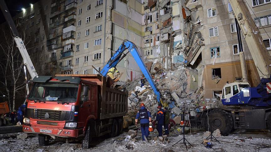 ارتفاع قتلى المبنى المنهار في روسيا إلى 13