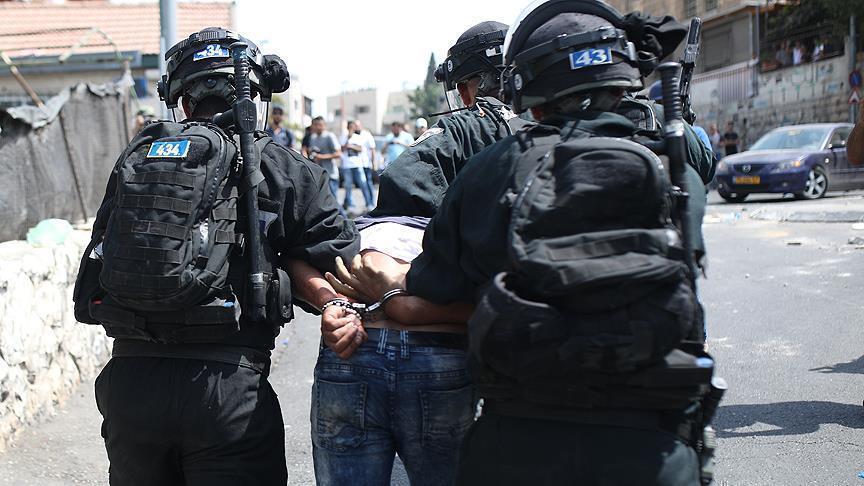 اسرائيل تعتقل 18 فلسطينيا في الضفة الغربية