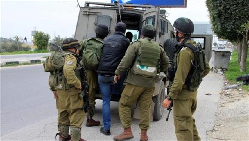 اسرائيل تعتقل 20 فلسطينيا بينهم 4 من قناة القدس الفضائية