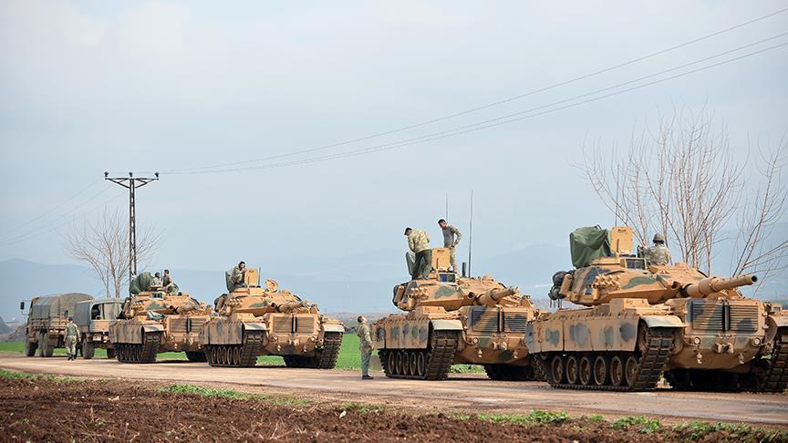 الأركان التركية تعلن تحييد 1485 إرهابياً في إطار غصن الزيتون