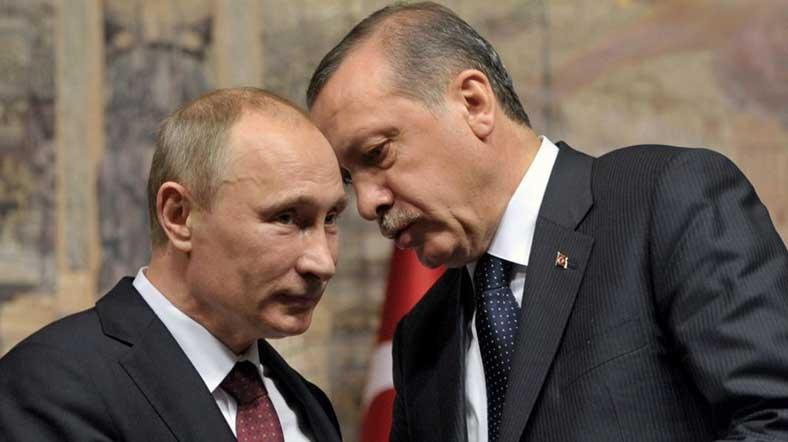 الأزمة السورية مادة رئيسية على أجندة مباحثات أردوغان - بوتين