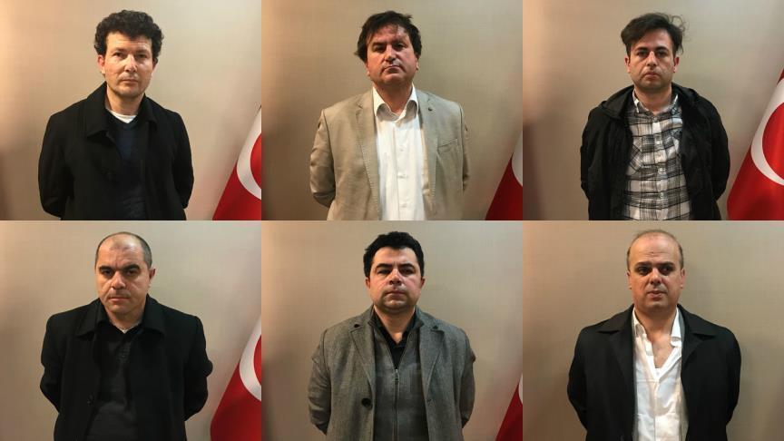 الاستخبارات التركية تقبض على 6 من عناصر