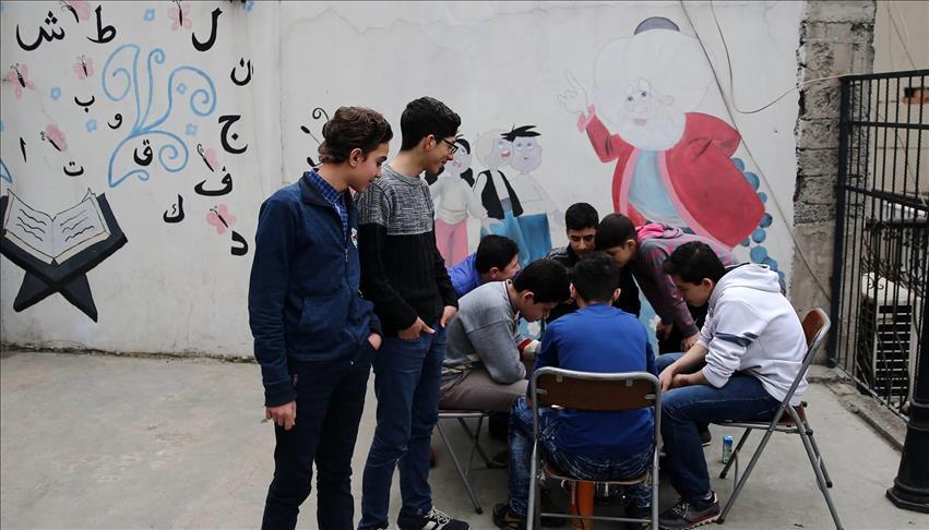 التعليم على أجندة مساعدات الجمعيات التركية للسوريين