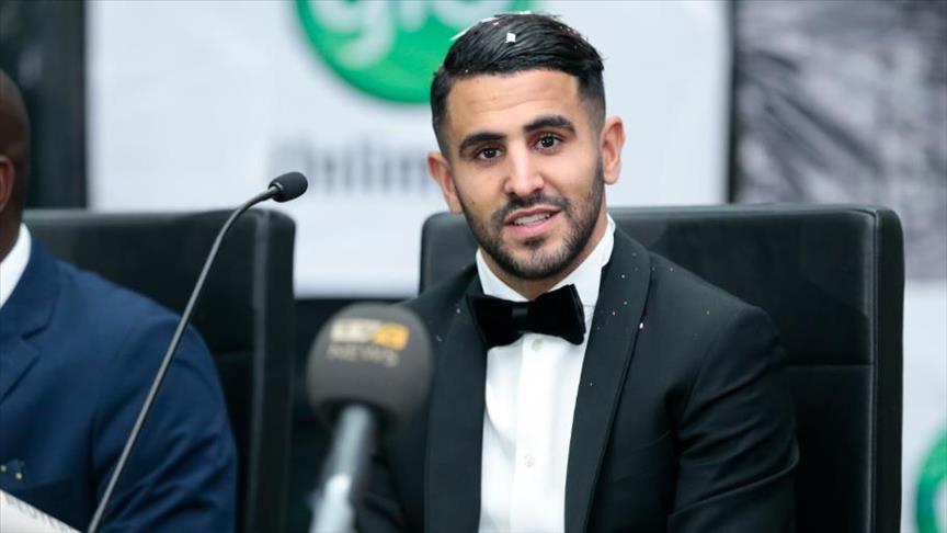 الجزائري محرز أفضل لاعب إفريقي لعام 2016