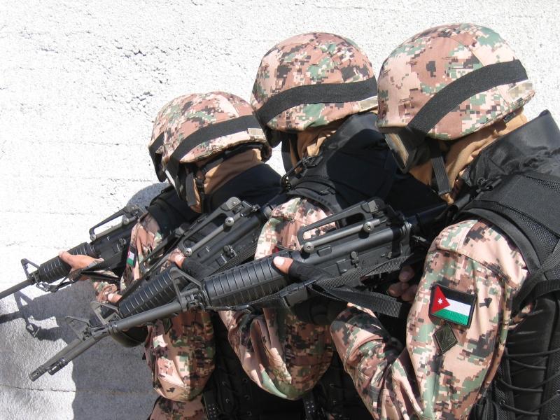 الجيش الأردني يعلن مقتل متسللين اثنين من الأراضي السورية