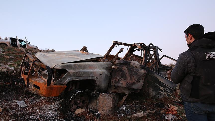 الجيش التركي يحبط محاولة لاستهداف مواقعه بسيارة مفخخة