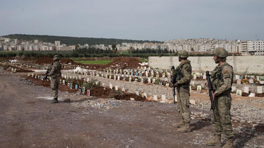 الجيش التركي يعثر على مقبرة للإرهابيين في عفرين