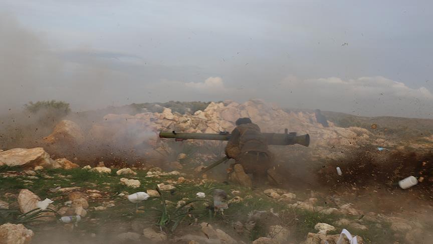 الجيش التركي يقصف مواقع لـ