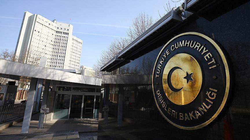 الخارجية التركية تستدعي القائم بالاعمال الروسية