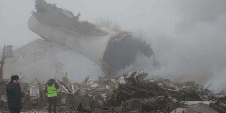 الخطوط الجوية التركية تنفي علاقتها بطائرة شحن سقطت في قرغيزستان