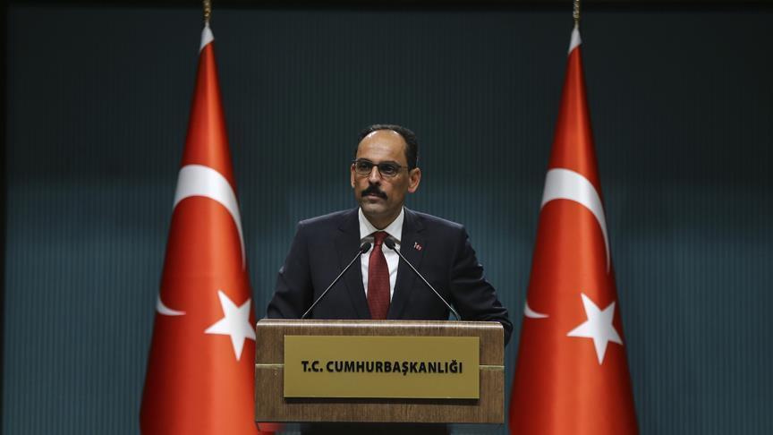 الرئاسة التركية: نعمل مع الروس لإقامة منطقة منزوعة السلاح في إدلب