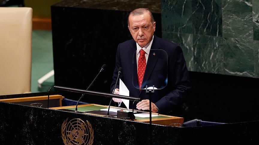 الرئيس أردوغان: حان أوان إحداث إصلاح شامل في الأمم المتحدة