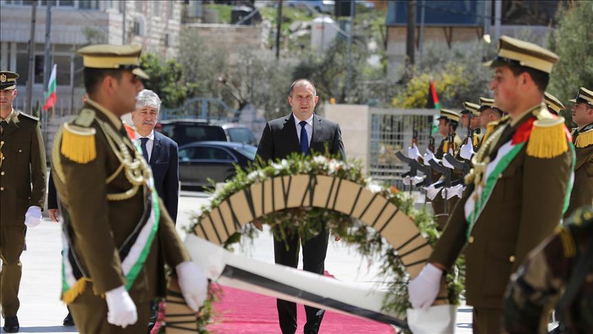 الرئيس البلغاري يصل رام الله في زيارة تستغرق عدة ساعات