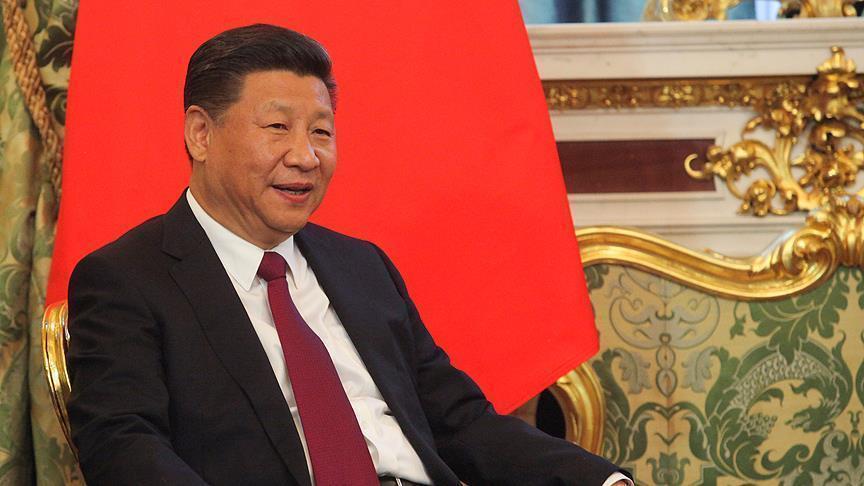 الرئيس الصيني يدعو لإعادة توحيد بلاده مع تايوان سلميا