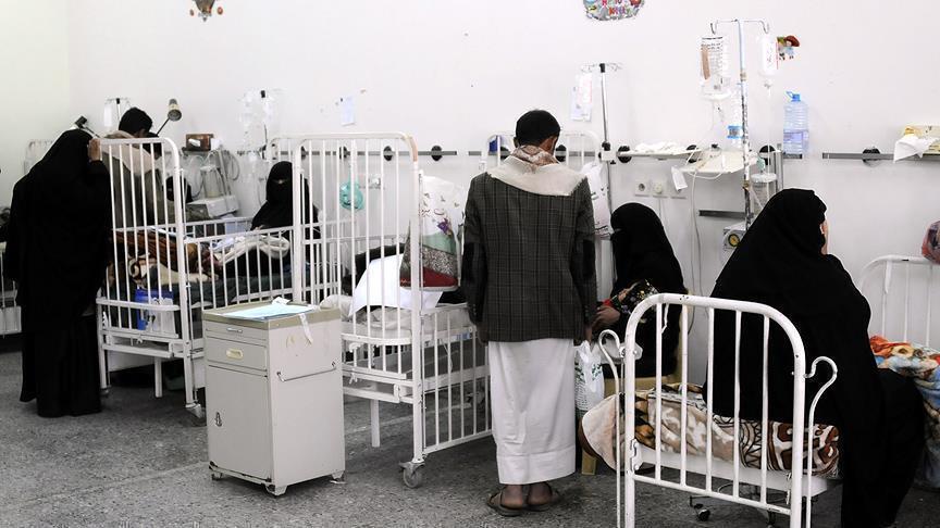 الصحة العالمية: ارتفاع وفيات الكوليرا في اليمن إلى 2195