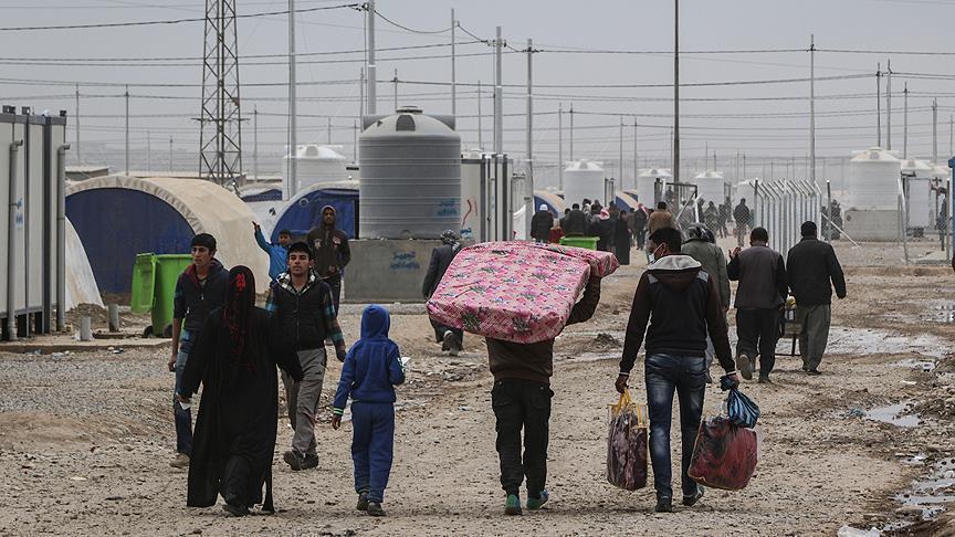العراق.. ارتفاع أعداد النازحين إلى 169 ألف منذ بدء معركة الموصل