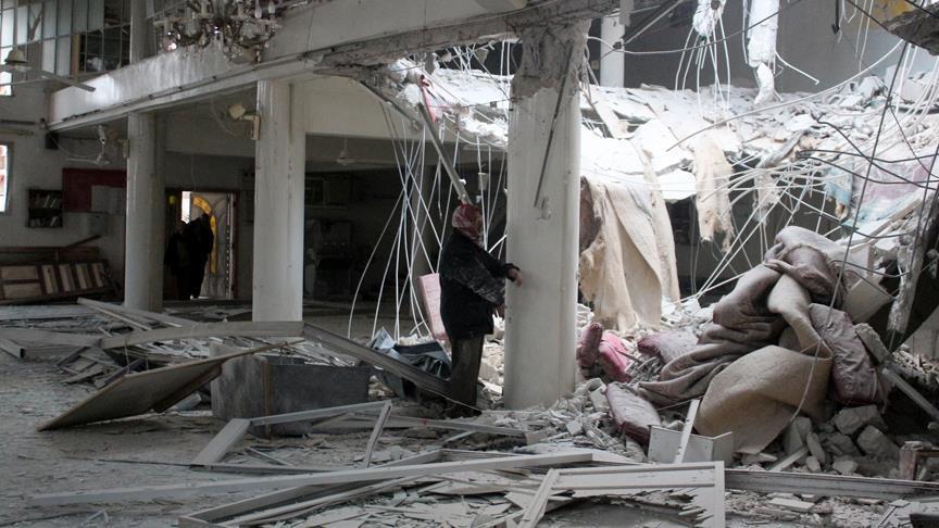 الغوطة الشرقية.. 250 قتيلا في قصف للنظام السوري خلال آخر 3 أيام