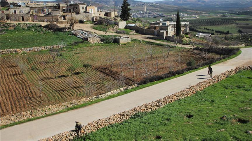 القرى المحررة من الإرهابيين في عفرين الثلاثاء تصل للرقم 8