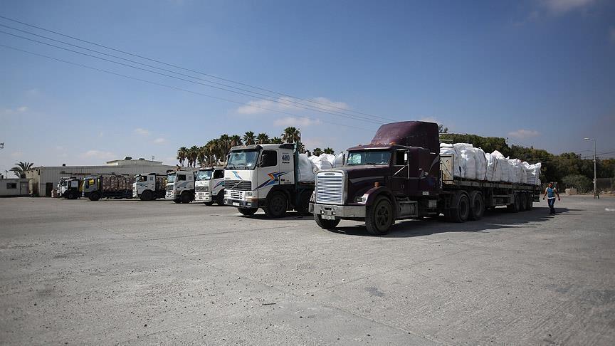 """""""القطاع الخاص"""" يوقف التنسيق لإدخال البضائع لغزة الثلاثاء المقبل"""