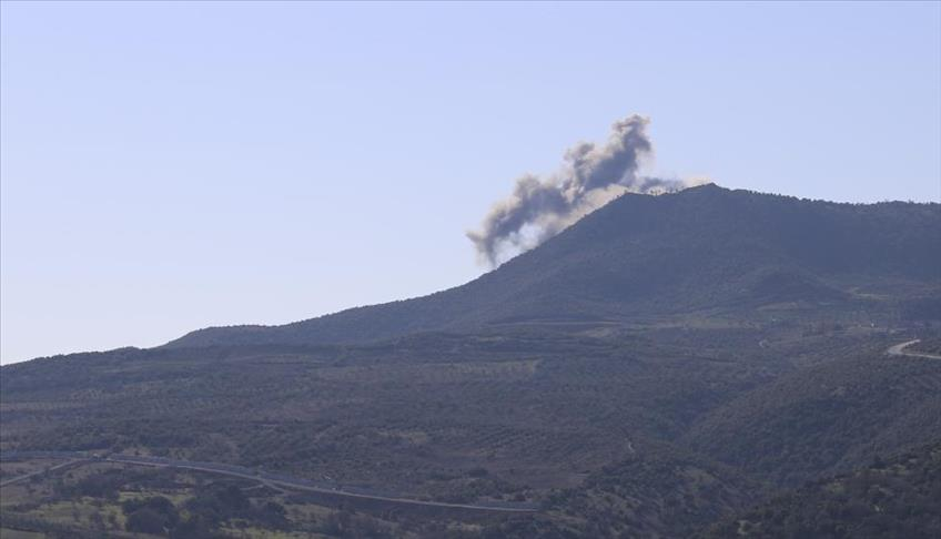 القوات التركية تستهدف أوكار الإرهاب في عفرين