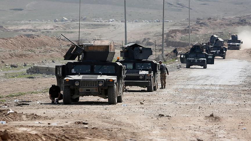 القوات العراقية تحرر منطقة