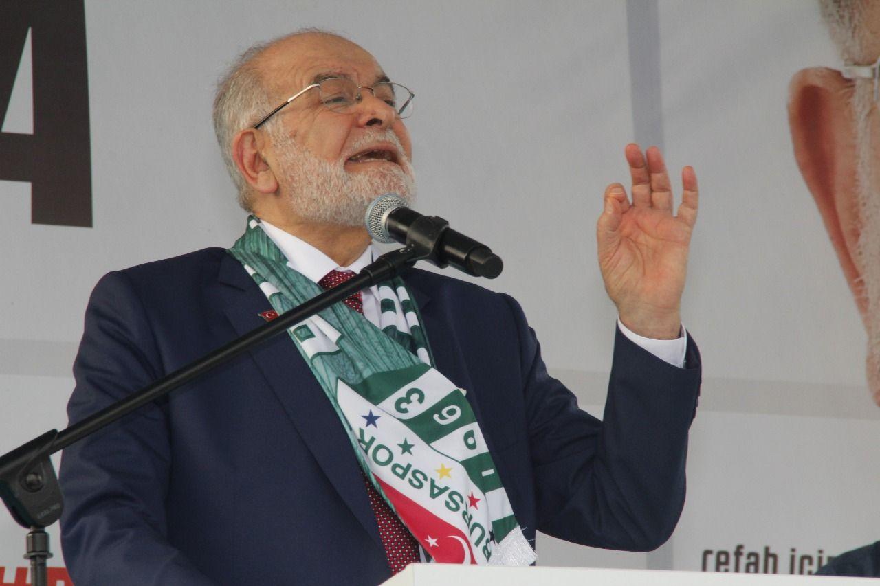 المرشح الرئاسي لحزب السعادة التركي: سنحتضن جميع طوائف المجتمع
