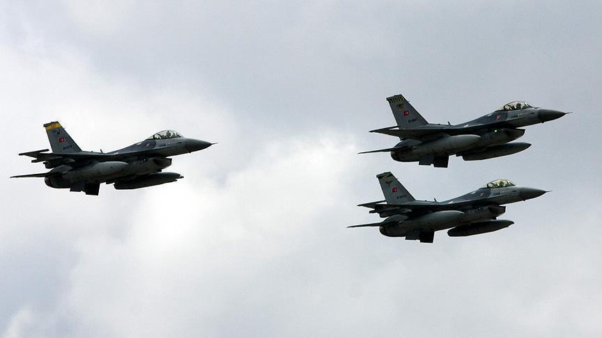 المقاتلات التركية تدمر 11 هدفا لـ
