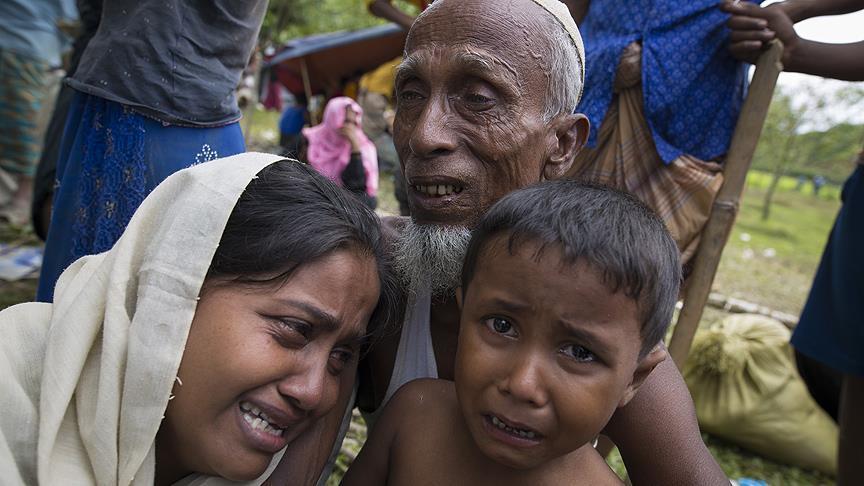 اليابان تطالب ميانمار بضمان عودة مسلمي أراكان إلى البلاد