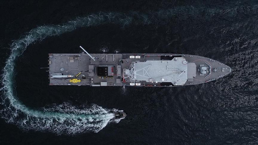 انطلاق أكبر مناورات بحرية تركية الأربعاء